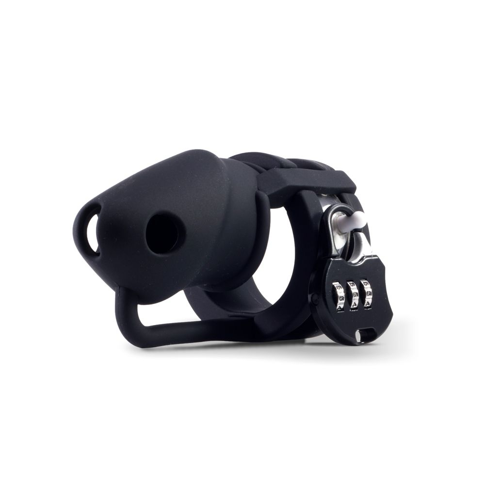 Cage de Chasteté Silicone LOCK A WILLY