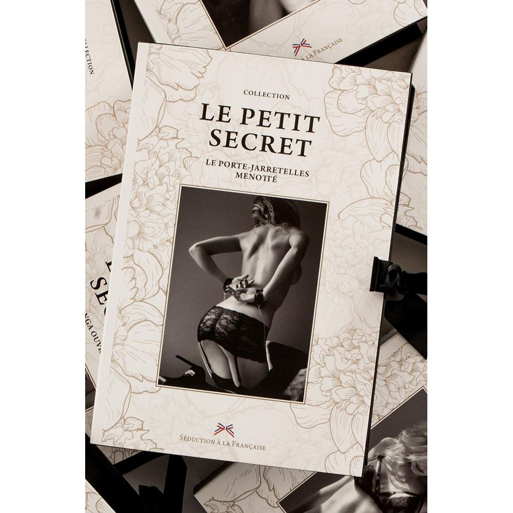 Porte-Jarretelles Menotté Noir Le Petit Secret