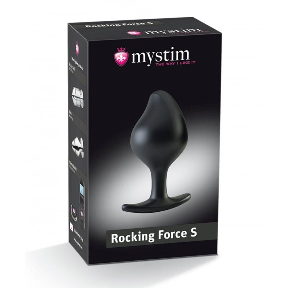 Plug Anal E-Stim Rocking Force Small