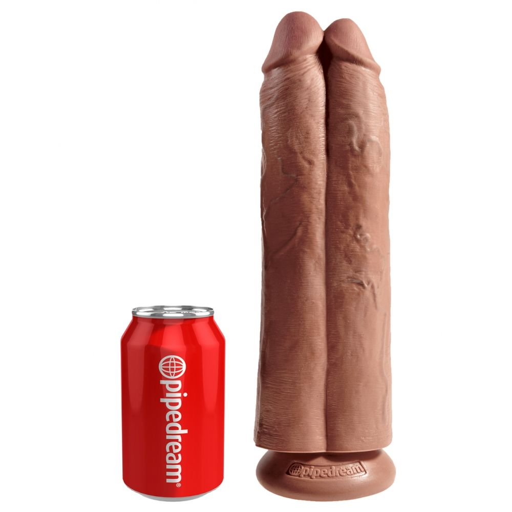 Double Dildo 28 cm Two Cocks One Hole King Cock