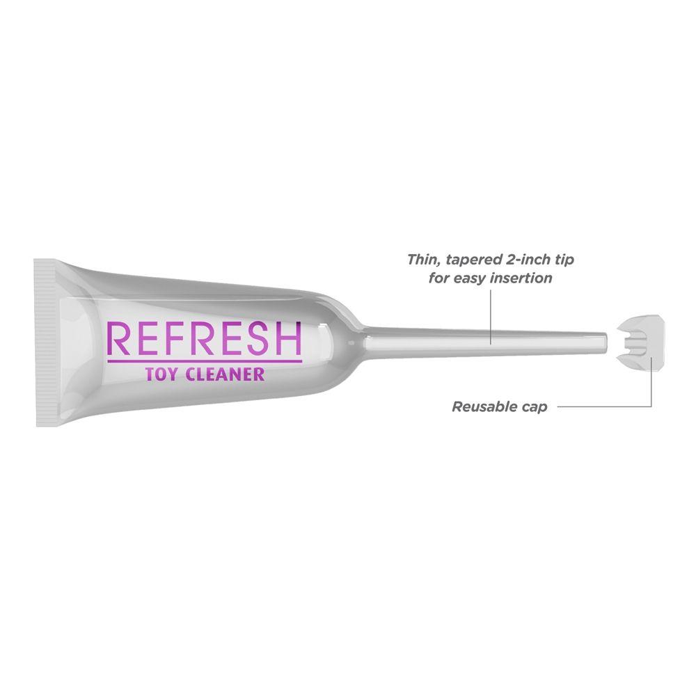 Nettoyant pour Sextoys avec Applicateur Insérable Refresh x3