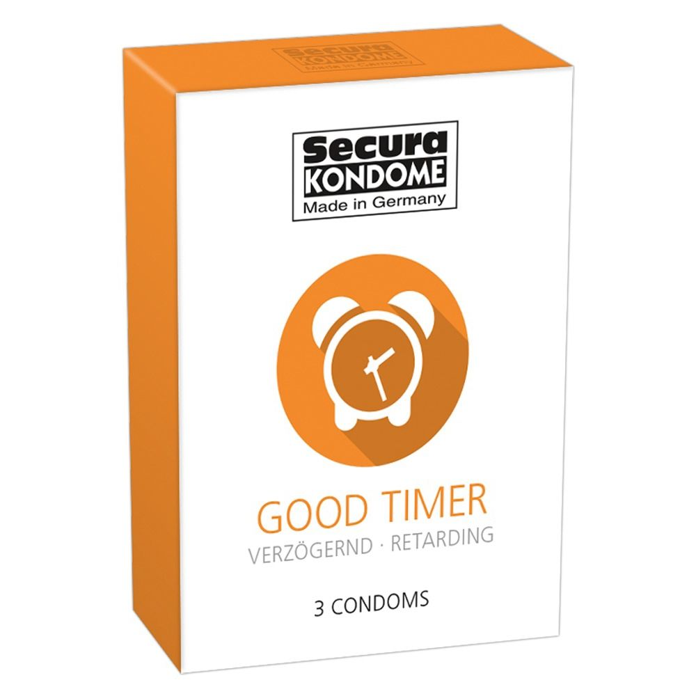 Préservatifs Retardants Good Timer Boîte de 3