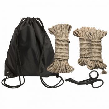Kit Initiation Bondage Cordes en Chanvre Bind & Tie