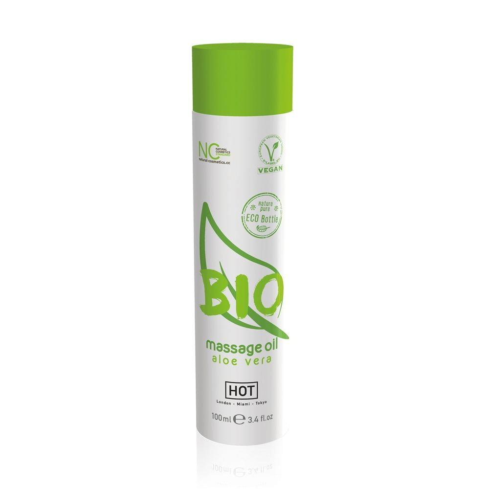 Huile de Massage Bio Aloe Vera 100 ml