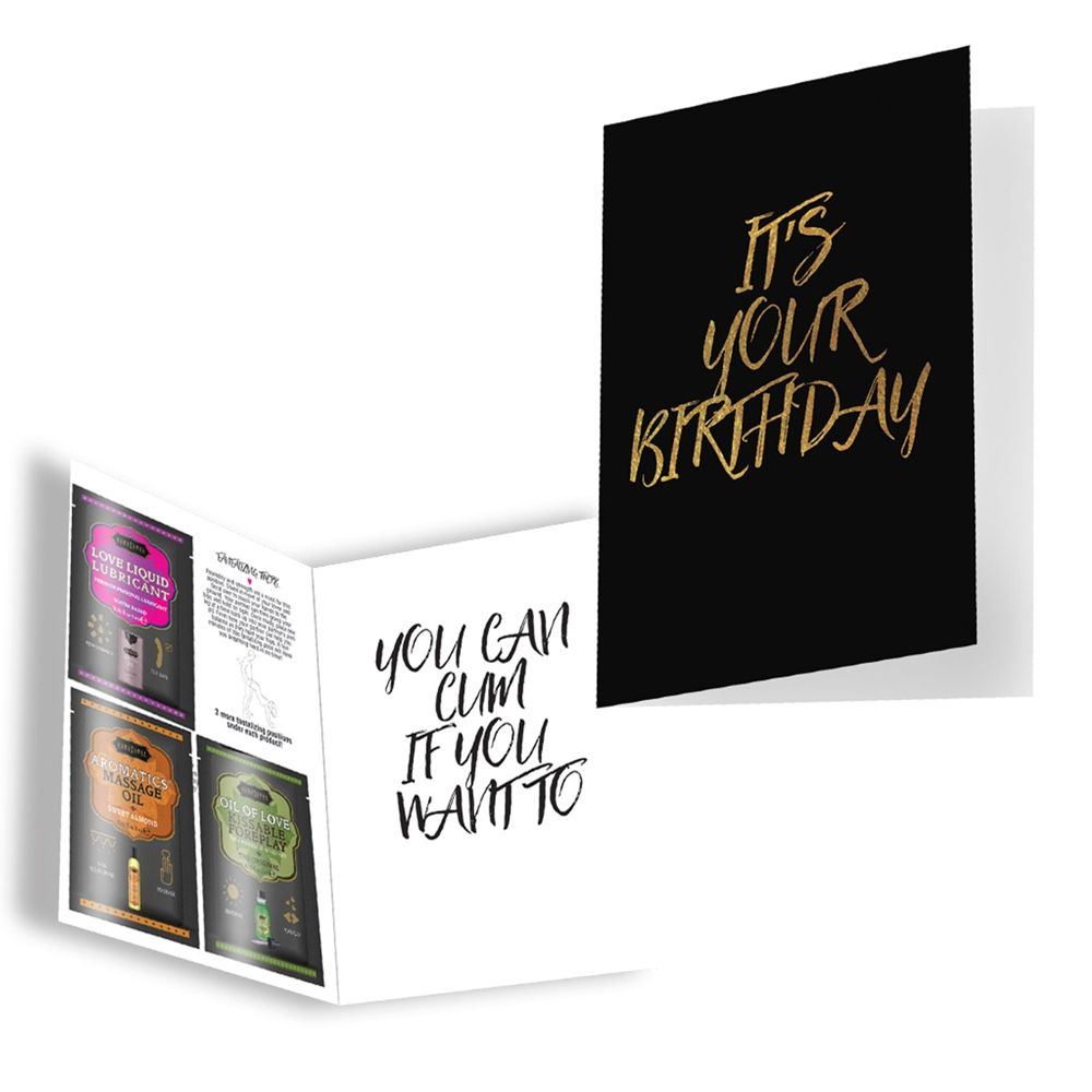 Carte de Voeux Naughty Notes It's your Birthday