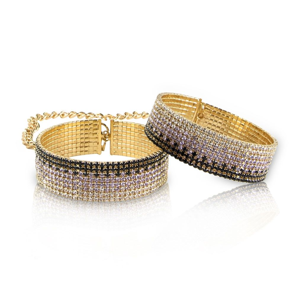 Menottes Diamond Cuffs Liz