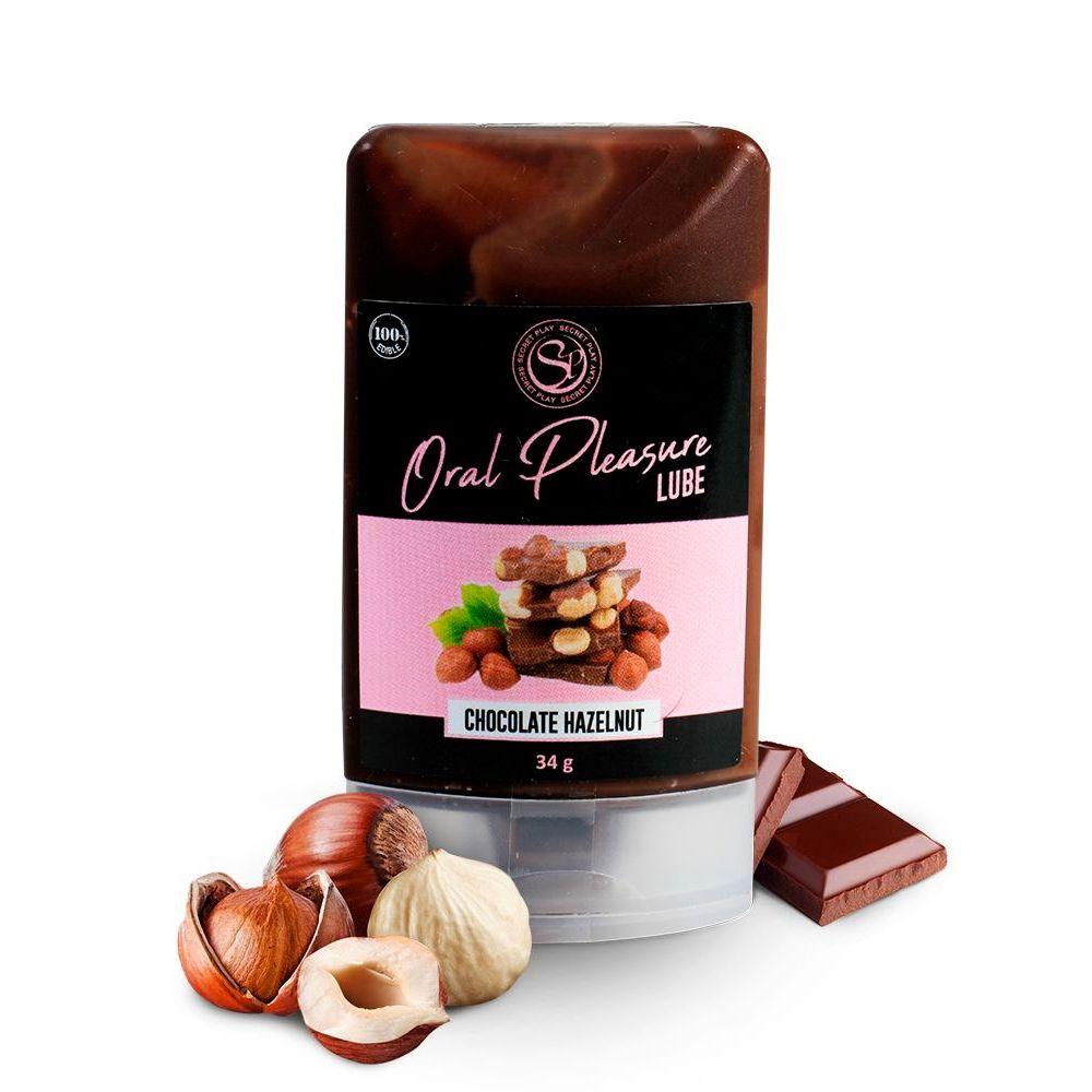 Lubrifiant Comestible Oral Pleasure Chocolat Noisette