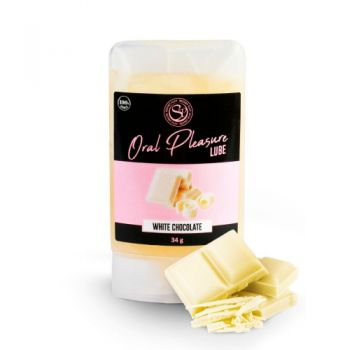 Lubrifiant Comestible Oral Pleasure Chocolat Blanc