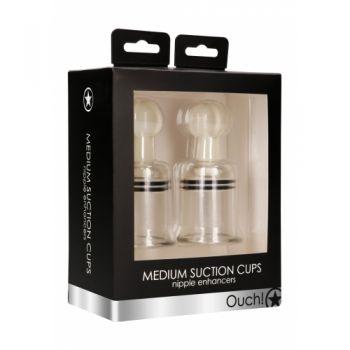 Pompes à Tétons Suction Cups Medium