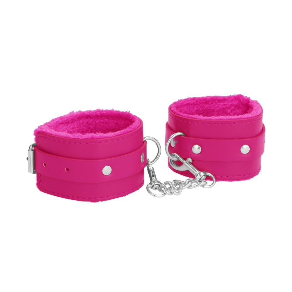 Menottes Plush Leather Cuffs