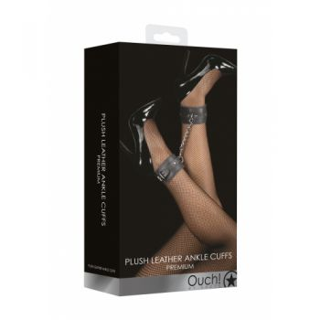 Menottes Chevilles Plush Leather Cuffs