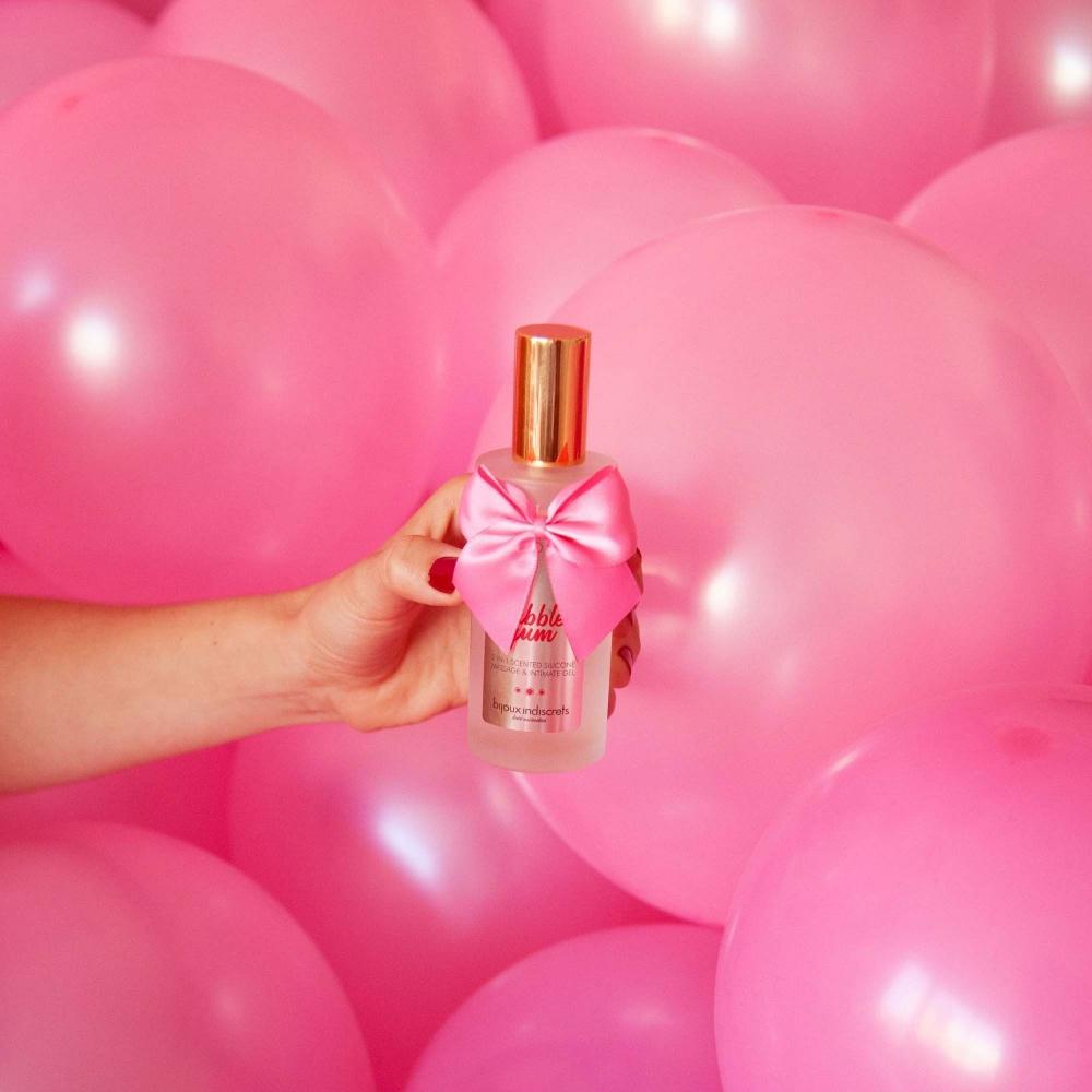 Gel de Massage & Lubrifiant Bubble Gum Silicone