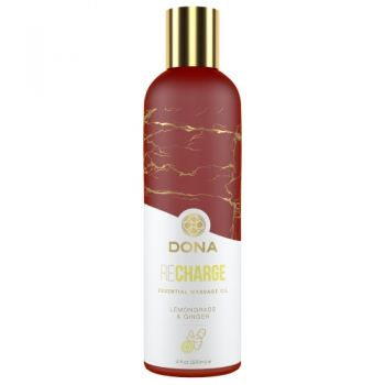 Huile de Massage Essentielle REcharge Citronnelle & Gingembre 120 ml