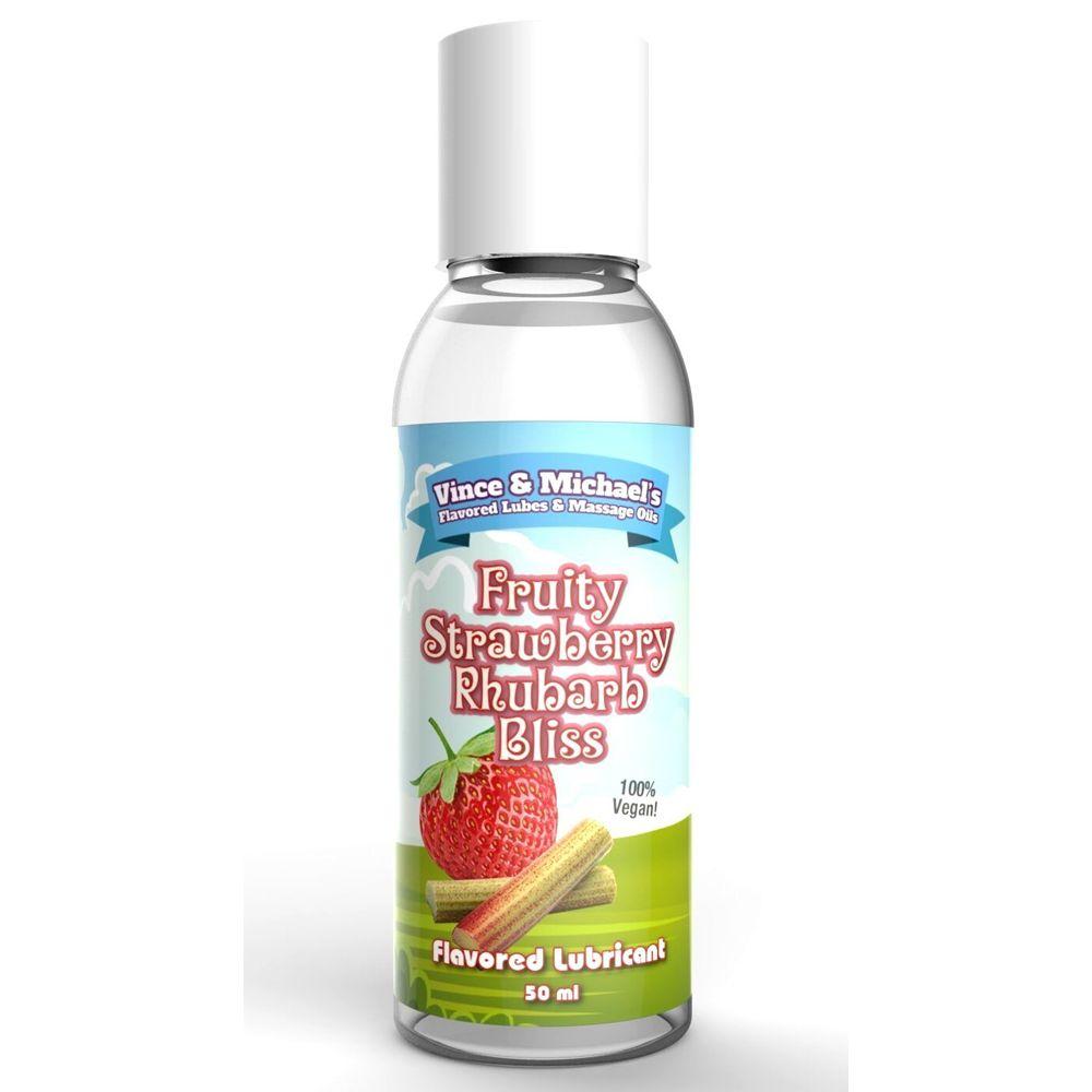 Lubrifiant Eau Gourmand Fraise Rhubarbe 50 ml