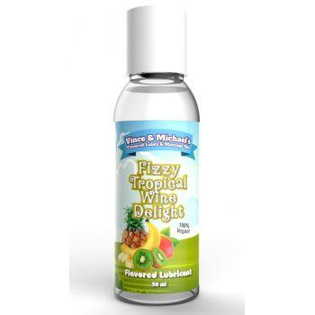 Lubrifiant Eau Gourmand Fruits Exotiques & Vin Pétillant 50 ml