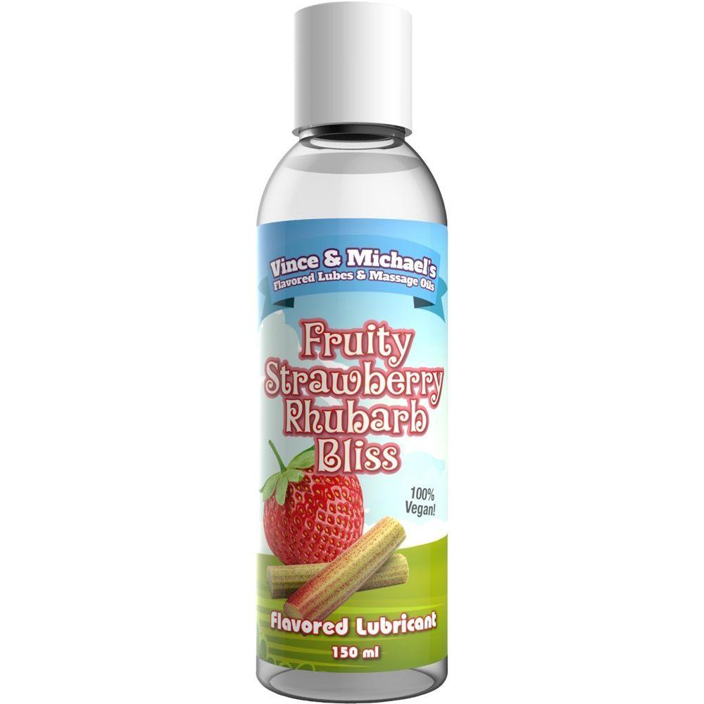 Lubrifiant Eau Gourmand Fraise & Rhubarbe 50 ml