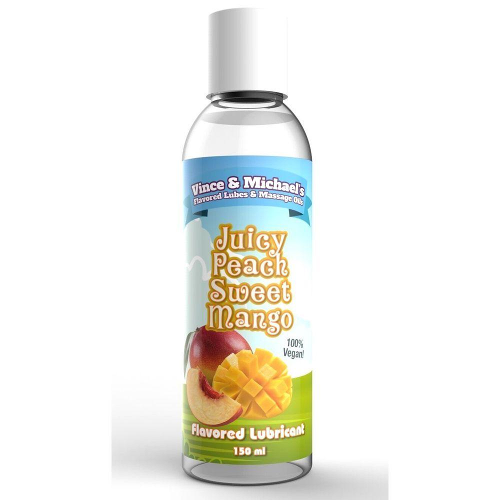Lubrifiant Eau Gourmand Mangue & Pêche 150 ml