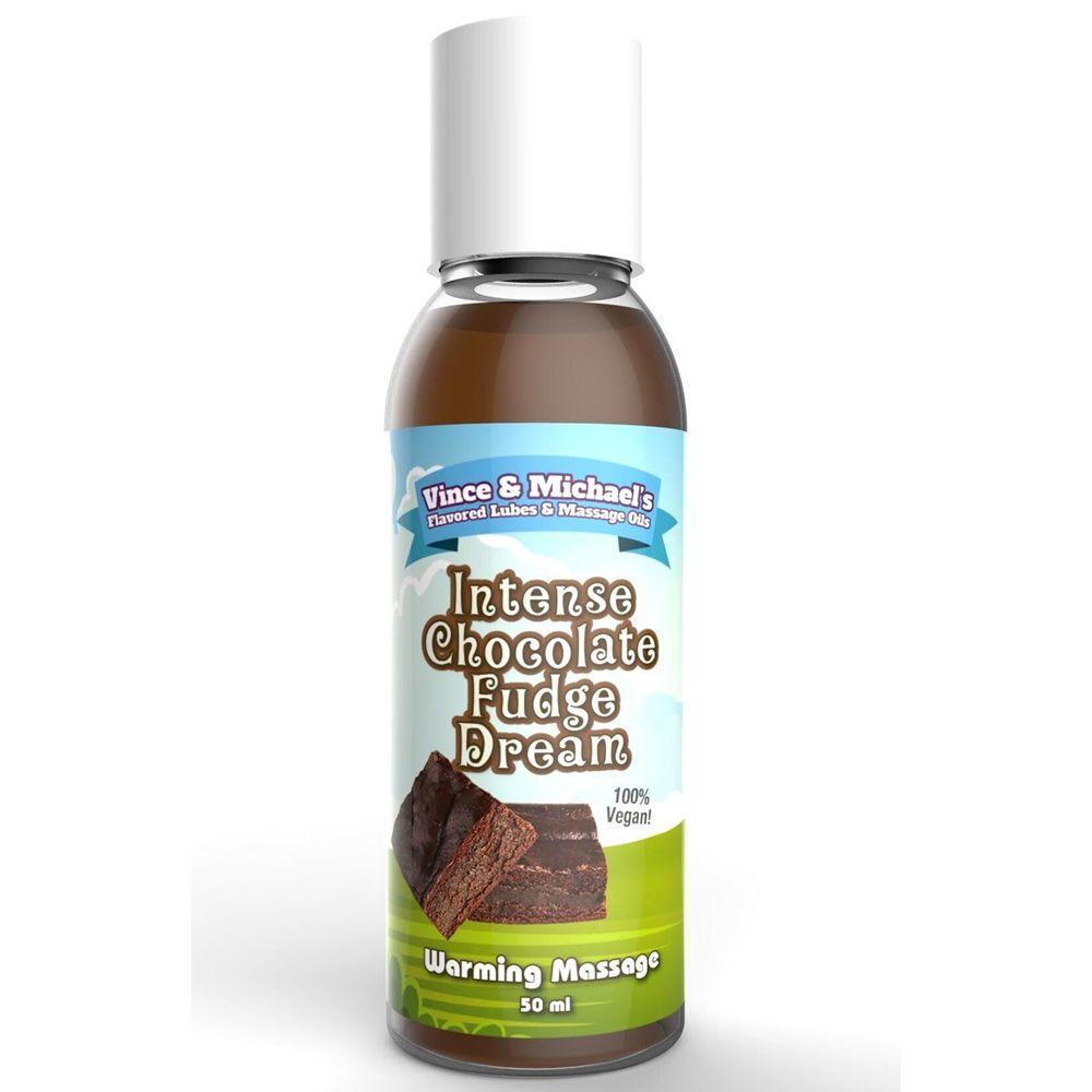 Huile de Massage Chauffante Gourmande Chocolat & Fudge 50 ml