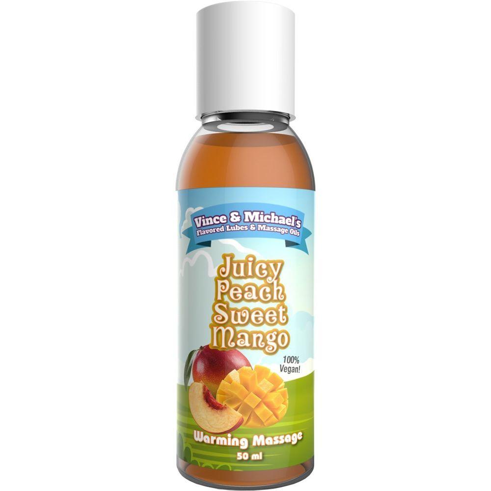 Huile de Massage Chauffante Gourmande Mangue & Pêche 50 ml