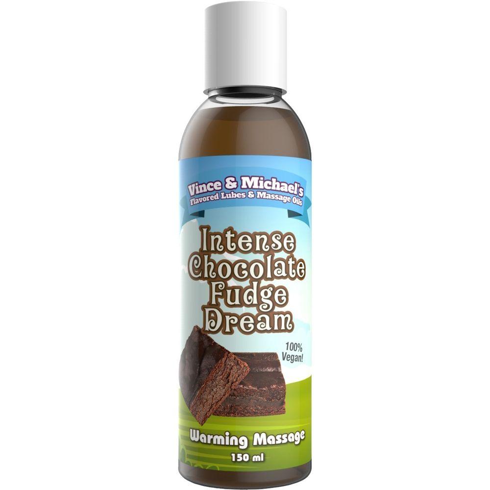 Huile de Massage Chauffante Gourmande Chocolat & Fudge 150 ml