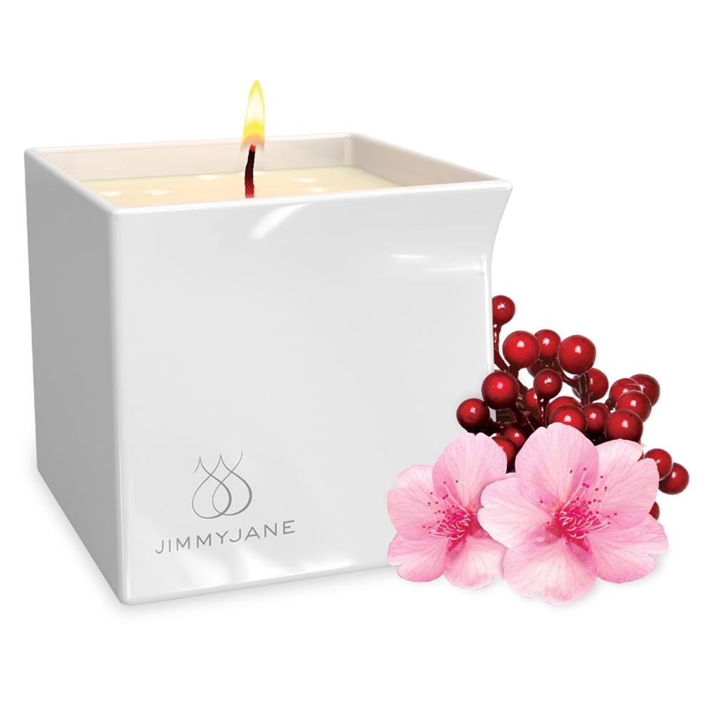 Bougie de Massage Naturelle Afterglow Berry Blossom