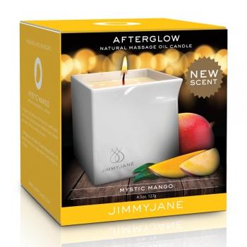 Bougie de Massage Naturelle Afterglow Mystic Mango