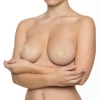 Caches-Tétons Silicone Beige 1 Paire