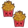 Caches-Seins Kawaii Frites