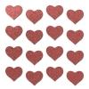 Autocollants Réfléchissants Body Minis Coeur Rouge