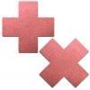 Caches-Seins Réfléchissant Croix Rouge