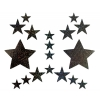 Kit Body Art Glitter Étoile Argentée