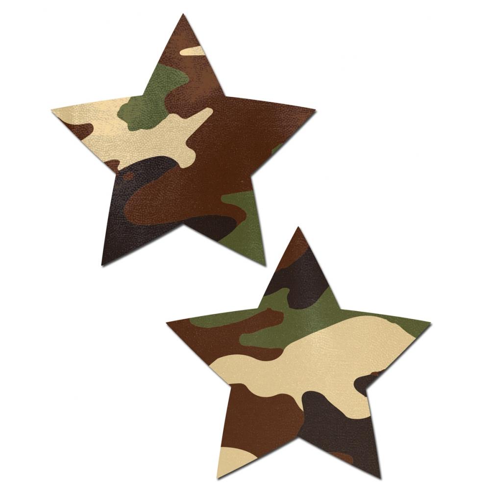 Caches-Seins Étoile Camouflage