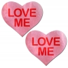 Caches-Seins Coeur Love Me