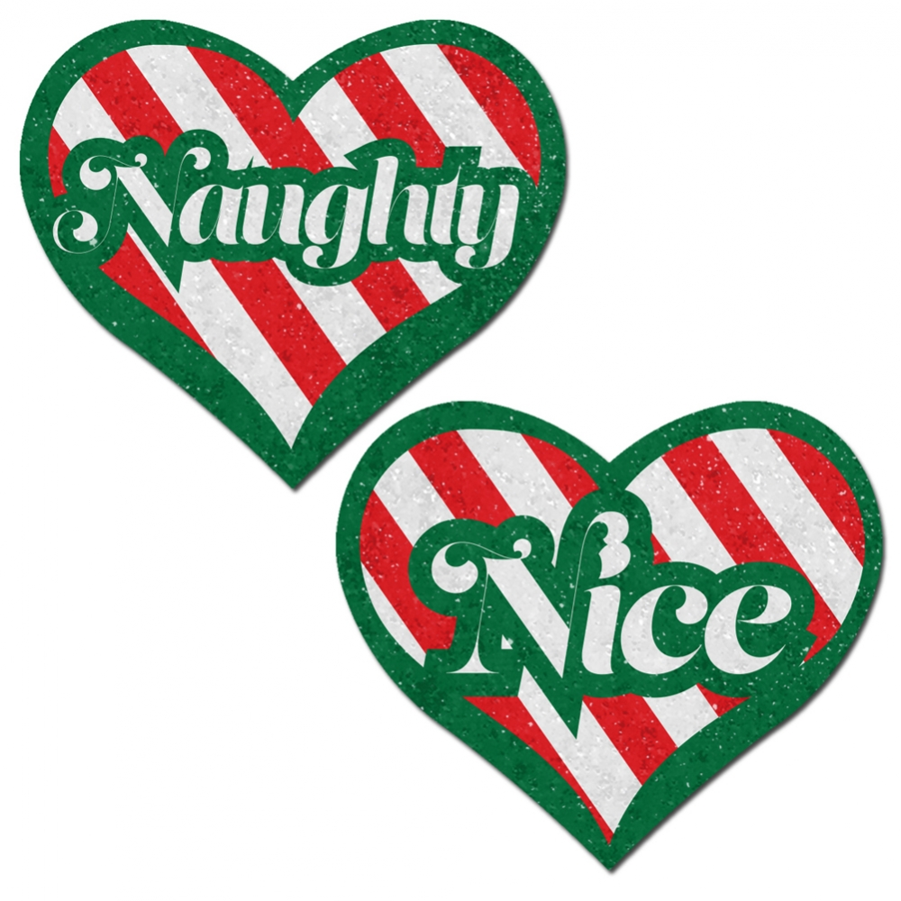 Caches-Seins Coeur Naughty and Nice