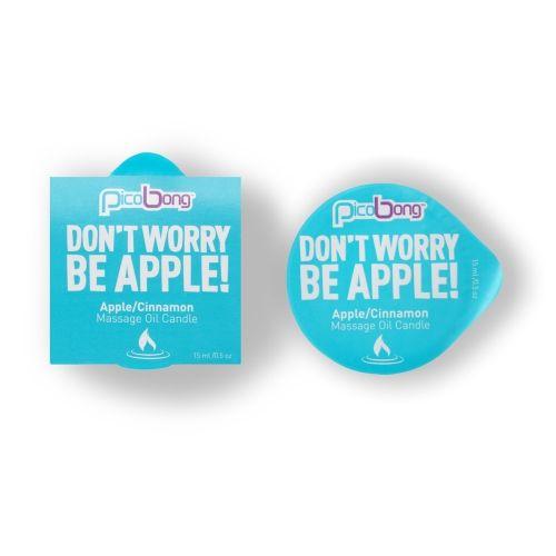 Bougie de Massage Pomme et Canelle