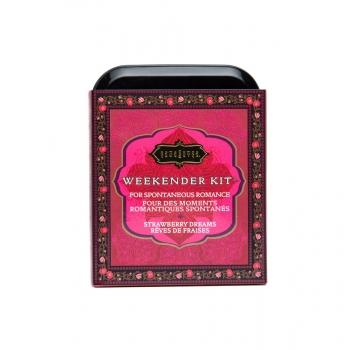 Kit Week-end Weekender Rêves de Fraises Kama Sutra