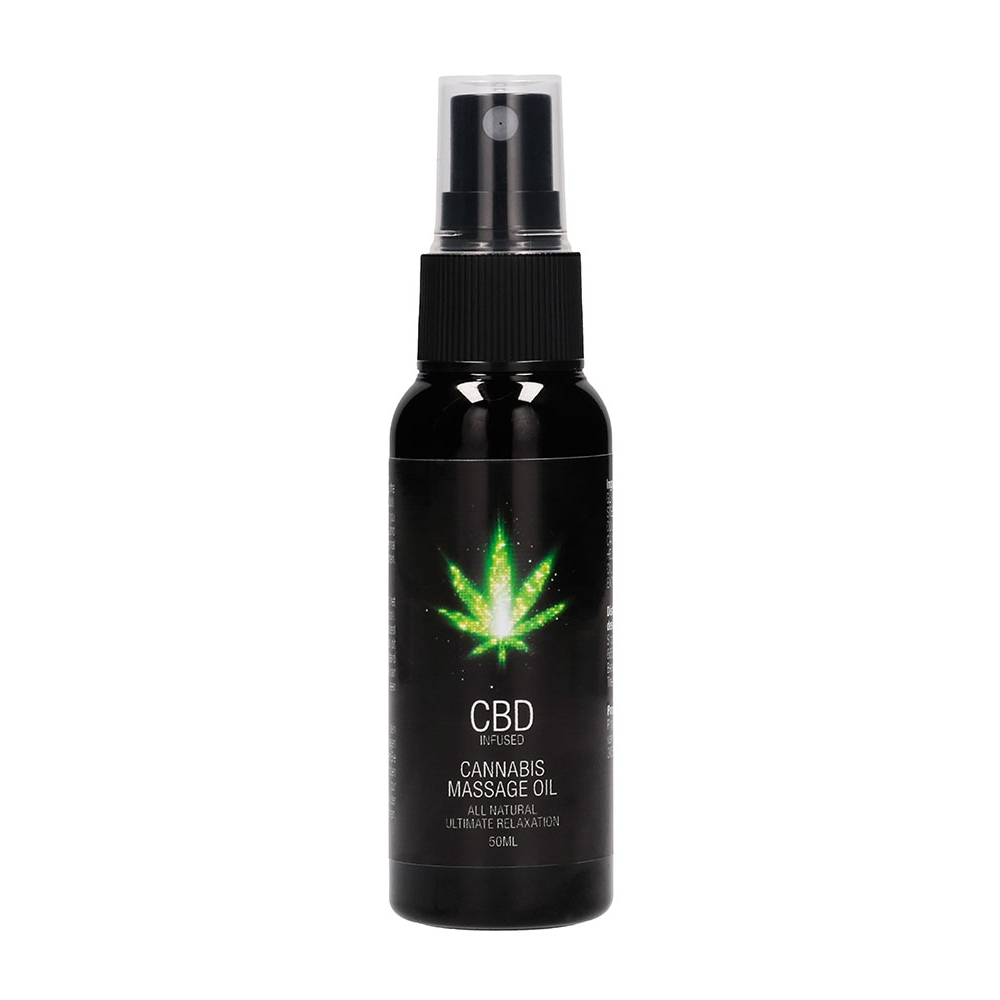 Huile de Massage CBD Infused 50 ml