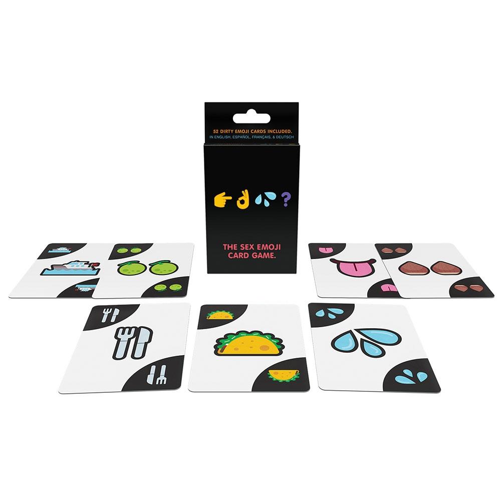 Jeu de Cartes Emojis Coquins