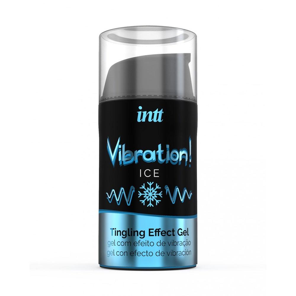 Gel Embrassable Effet Vibrant Ice Vibration!