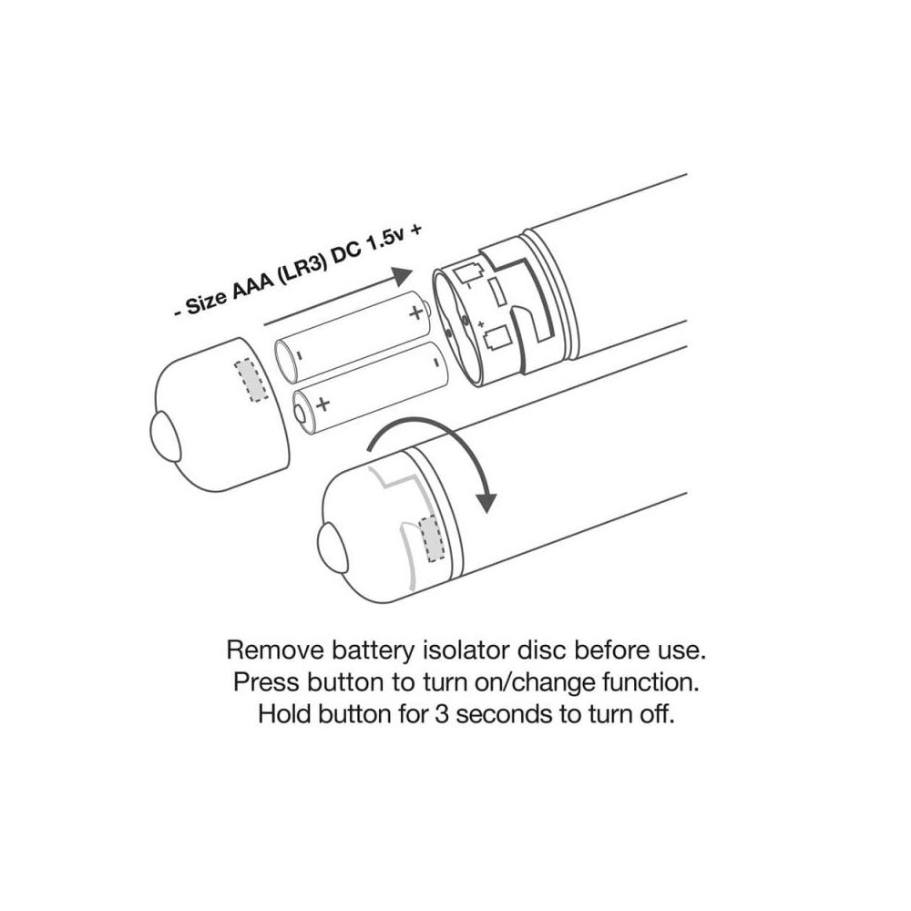 Stimulateur Bullet RO-120 mm Frosted Fleurs