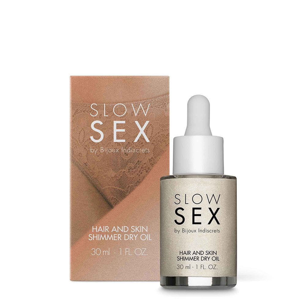 Huile Sèche Brillante Corps & Cheveux Slow Sex