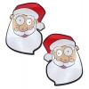 Caches-Seins Père Noël