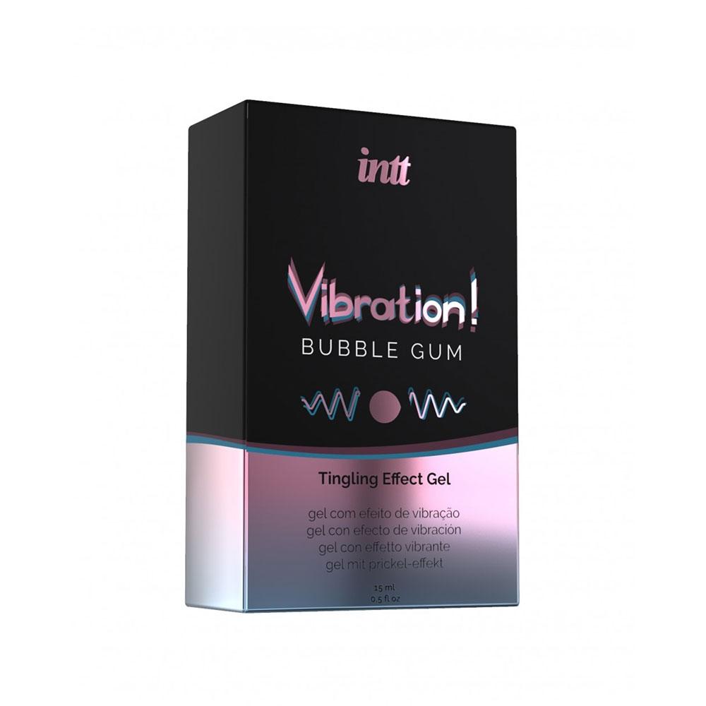 Gel Embrassable Effet Vibrant Bubble Gum Vibration!