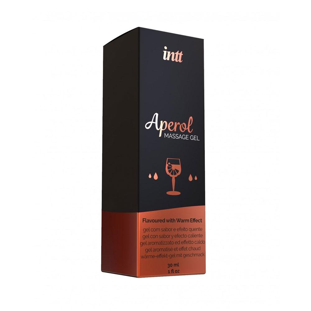 Gel de Massage Embrassable Chauffant Aperol 30 ml