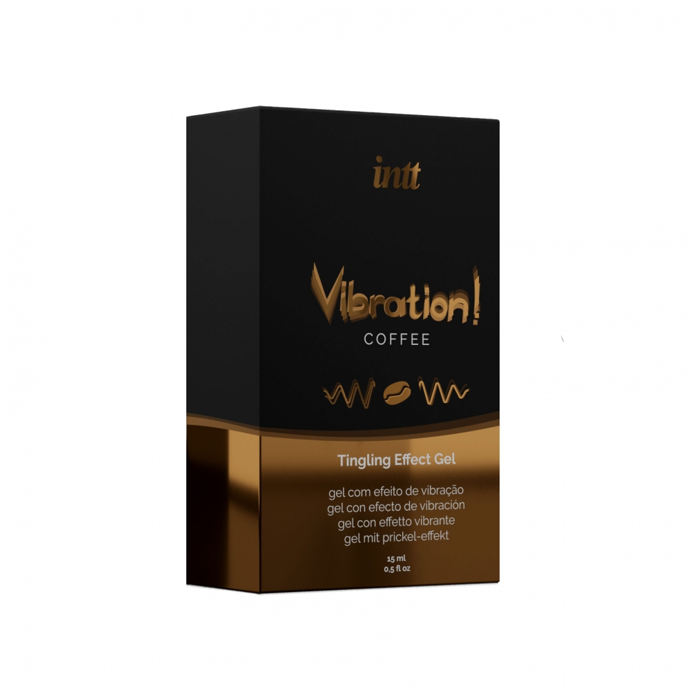 Gel Embrassable Effet Vibrant Coffee Vibration!