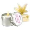 Bougie de Massage Mini Crème Vanille
