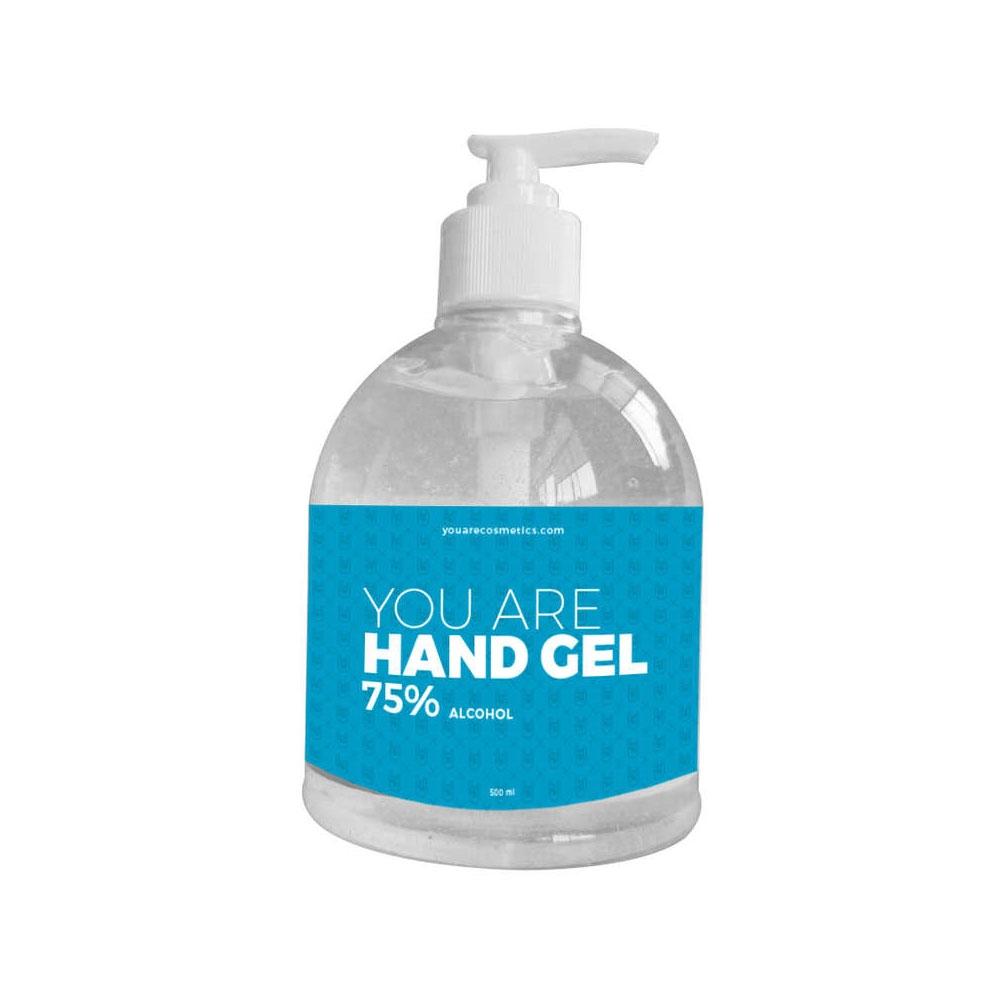Gel Hydroalcoolique Mains 500 ml