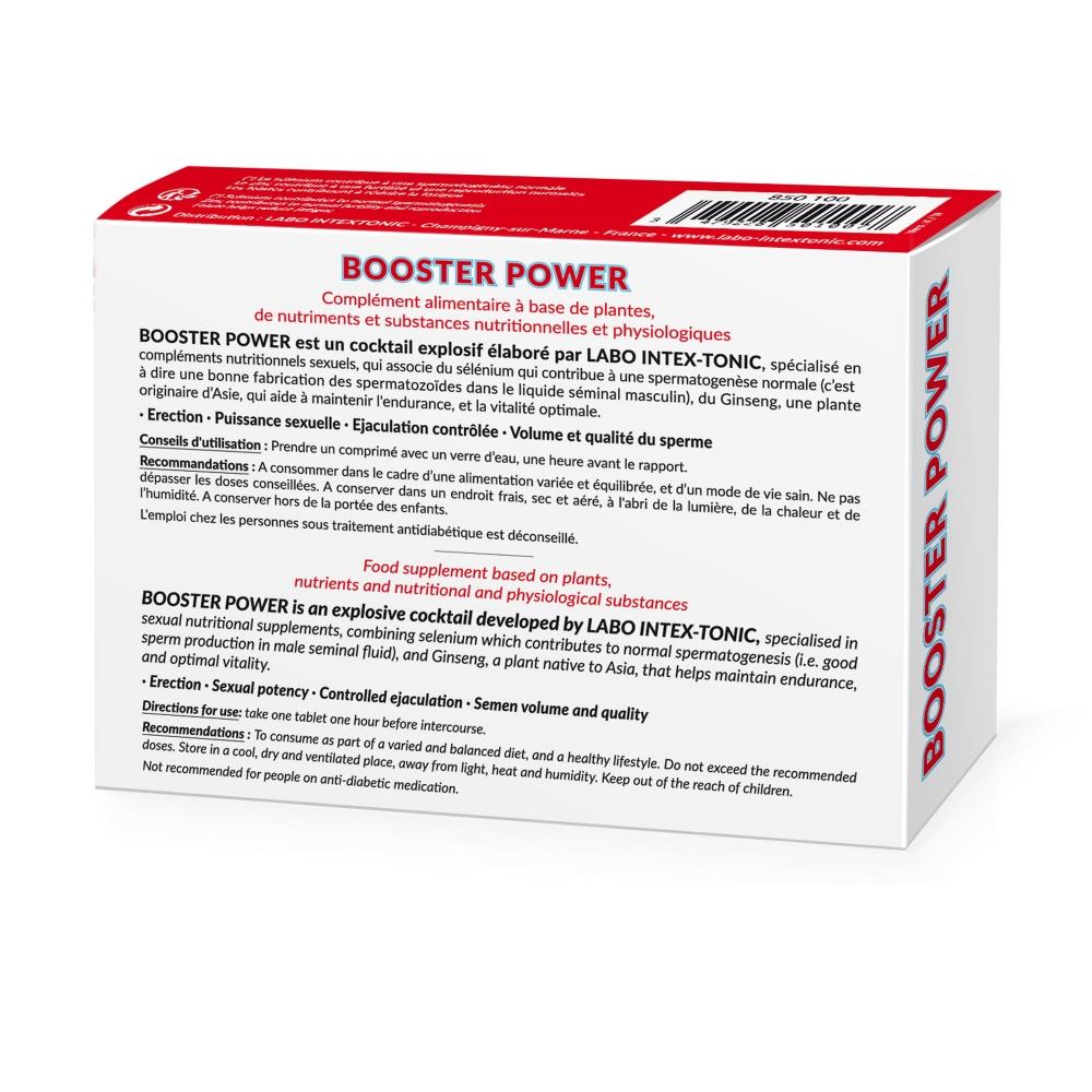 Aphrodisiaque Booster Power 30 Comprimés