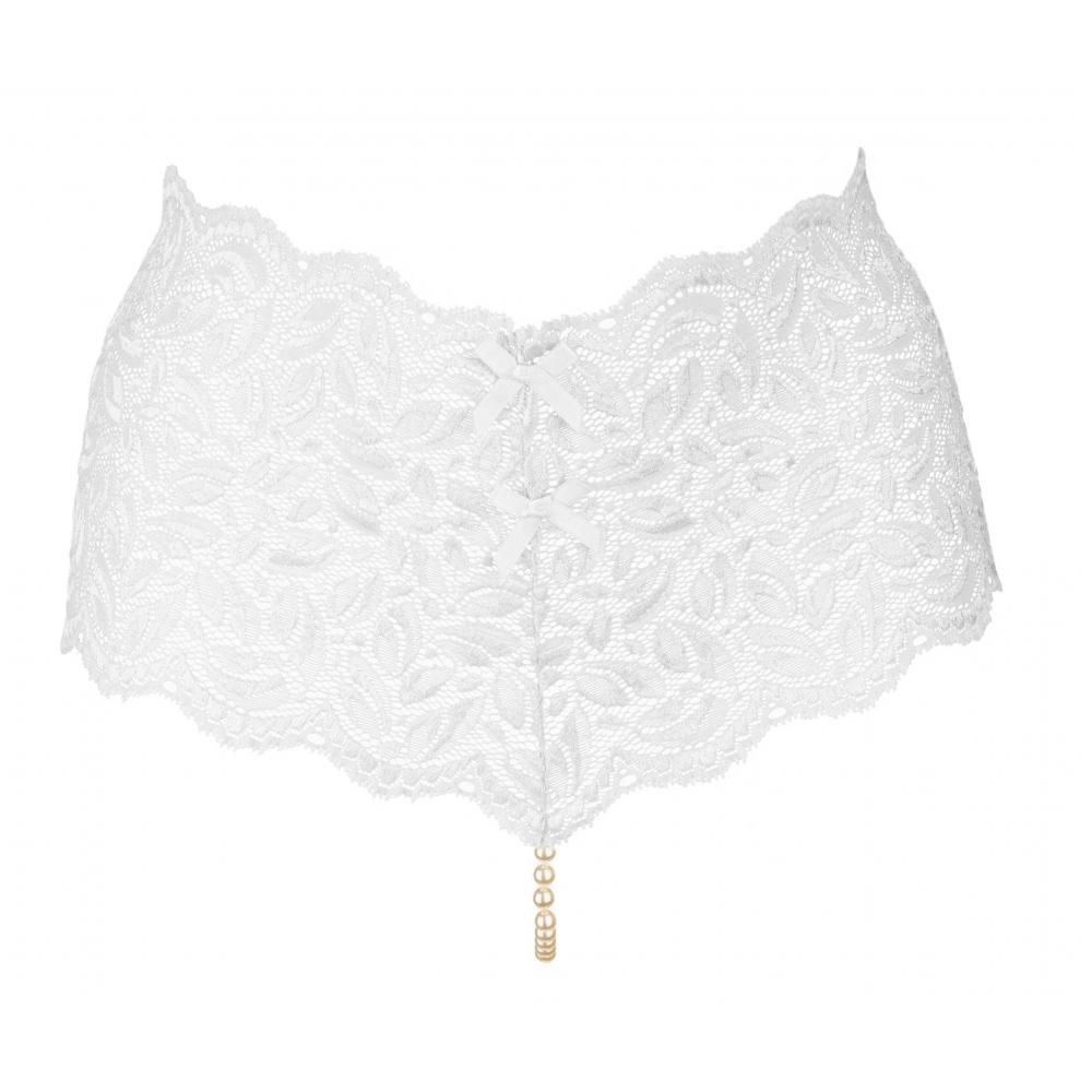 Culotte À Perles Blanche