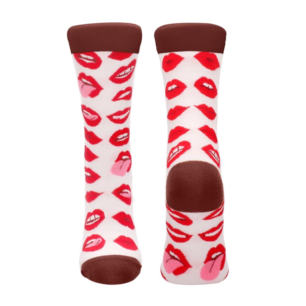 Chaussettes Sexy Socks Lip Love
